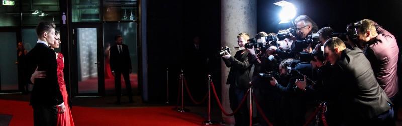 PB ACTION eventbureau kendte gæster på rød løber med presse