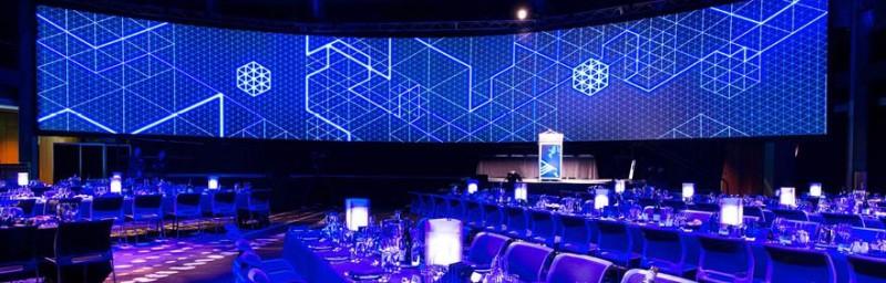 Eventbureau Jylland skaber smukt lysdesign til jyske firmaer